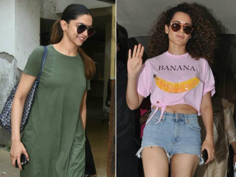 Deepika And Kangana In Shades Of Chic