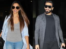 Photo : Deepika Padukone, Ranveer Singh And An Airport Tamasha