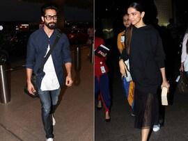 Deepika, Shahid Redefine Airport Fashion