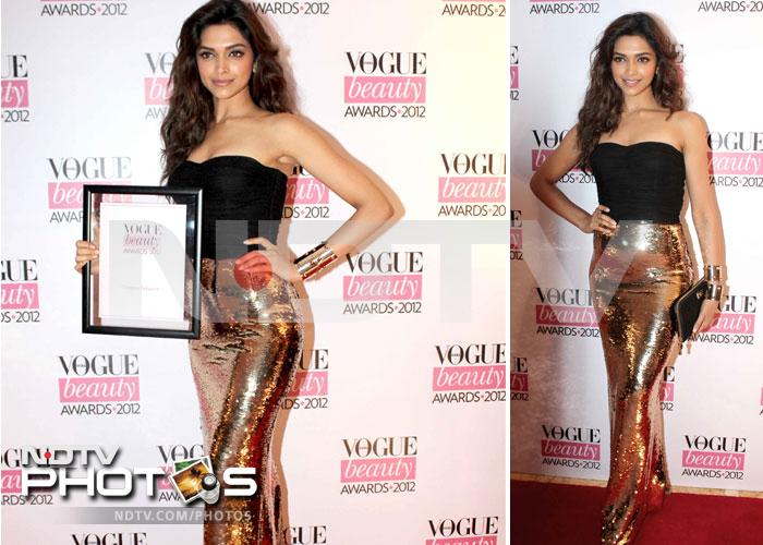 Deepika leads the fashion pack at Vogue Beauty Awards