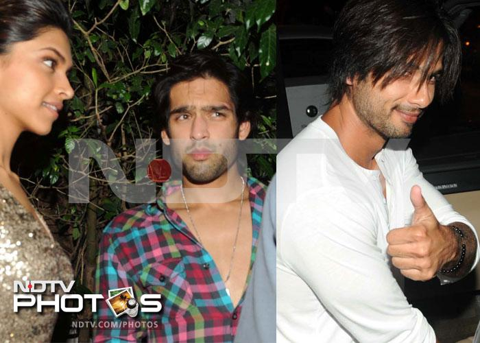 Deepika, Sidhartha party, Shahid was there too!