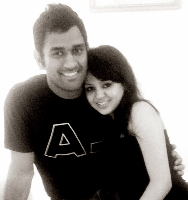 Unseen pics of Dhoni and Sakshi
