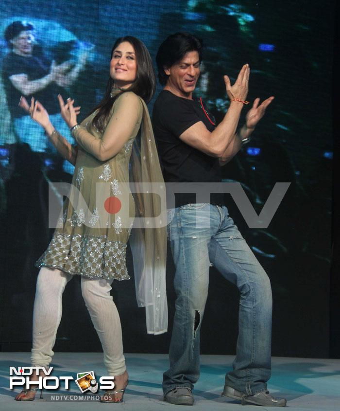 SRK, Bebo's Chammak Challo act