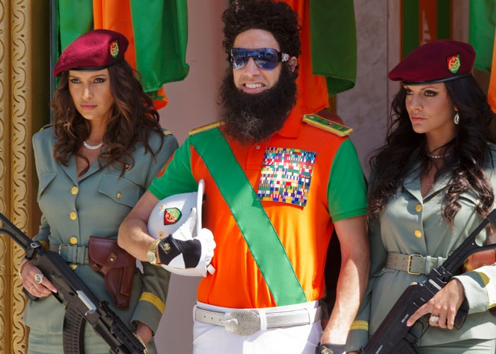 The Dictator brings his camel to Cannes