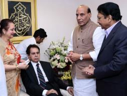 Photo : Inside Pics From Dilip Kumar's Padma Vibhushan Ceremony