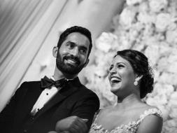 Photo : Wedding Album: Dipika Pallikal Marries Dinesh Karthik