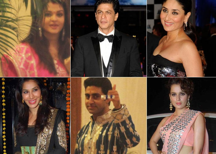 What stars wore this Diwali
