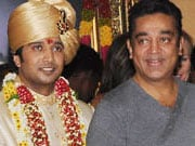 Photo : Celebs at the wedding reception of Sivaji Ganesan's grandson
