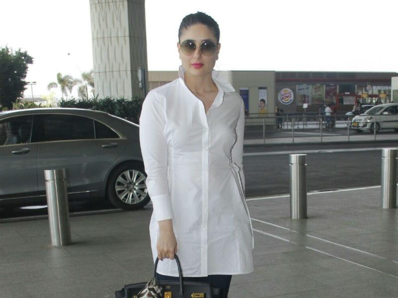 Kareena Kapoor Redefines Airport Fashion In White