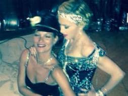 Photo : Dress You Up: Birthday Girl Madonna Parties With Kate Moss