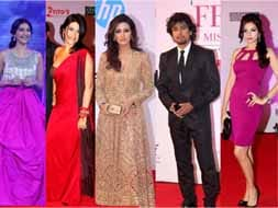 Photo : Star-studded evening at the Femina Miss India pageant 2012