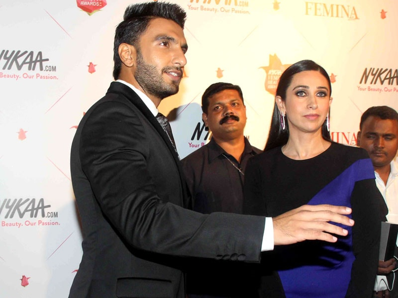 Karisma, Ranveer, Sonakshi Lead A-List Red Carpet at Femina Beauty Awards