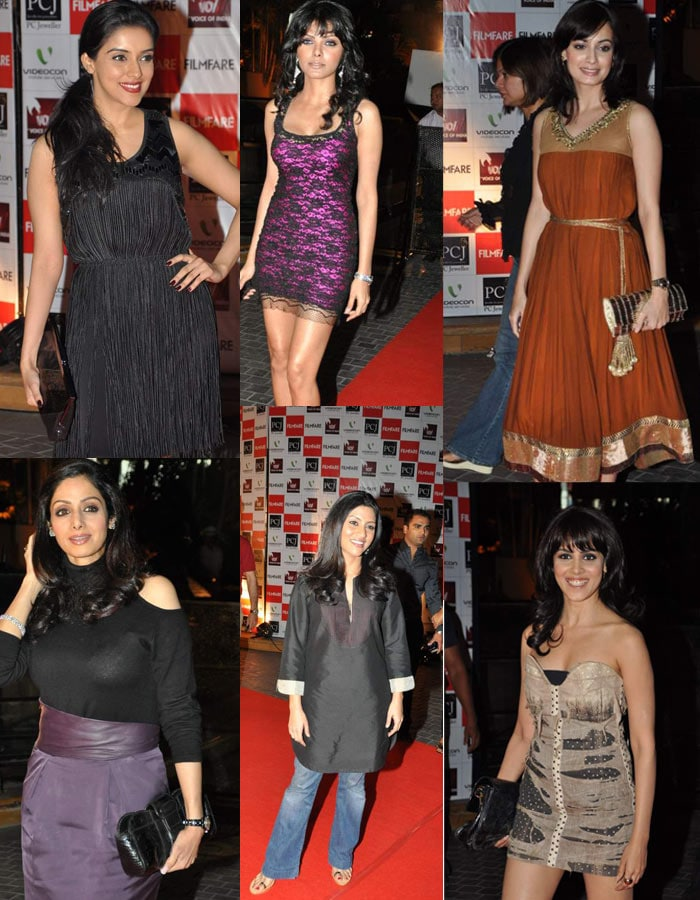 Beauties set for Filmfare