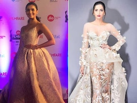 Filmfare Awards 2017: Alia Bhatt, Sonam Kapoor Dazzle On the Red Carpet
