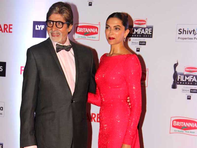 Filmfare Awards: Big B, Deepika, Salman on A-List Red Carpet