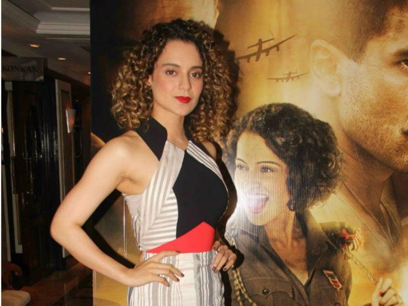 Kangana Looked Like A Diva At Rangoon Promotions