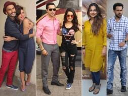 Photo : Bollywood at Work: Priyanka-Ranveer, Varun-Shraddha, Vidya-Emraan