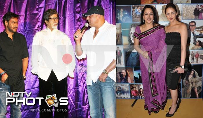 Star Spotting: Big B, Hema Malini