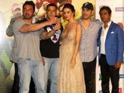 Photo : Freaky Ali Meets Shivaay: A Day With Salman, Amy, Ajay and Erika