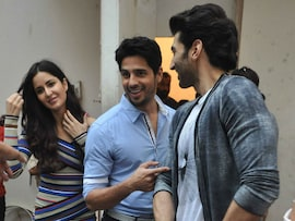 Katrina, Aditya, Sidharth's Friday <I>Fitoor</i>
