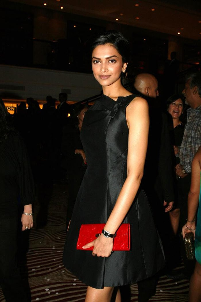 Freida, Deepika at Louis Vuitton party