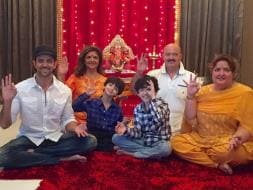Photo : Happy Ganesh Chaturthi: Celebs Bring Bappa Home