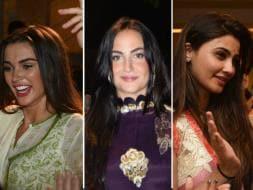Photo : Amy, Daisy, Elli Dance At Salman Khan's Ganpati Visarjan