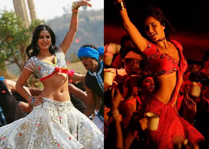 katrina   tees maar khan Bollywoods <Ghagra> moments