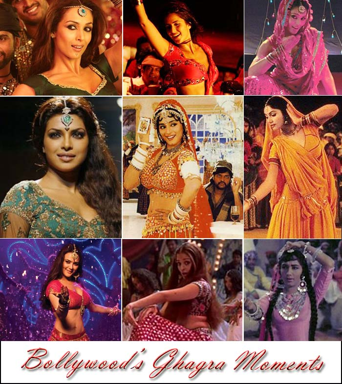 Bollywood's ghagra moments