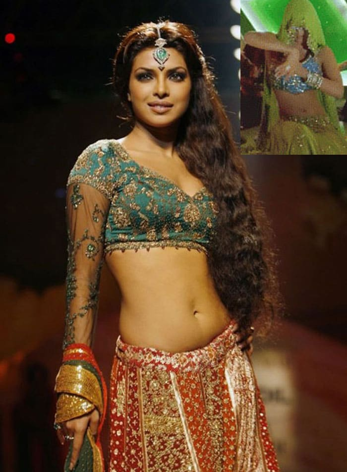 priyanka salaameishq Bollywoods <Ghagra> moments bollywood gallery