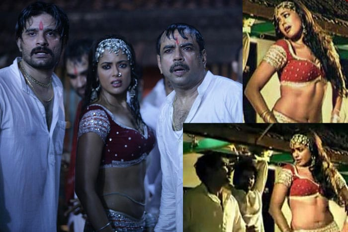 sameera reddy   tere ishq Bollywoods &lt;Ghagra&gt; moments bollywood gallery 