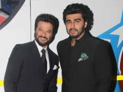 Photo : Men in Black: Anil Kapoor, Arjun