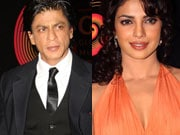 Photo : SRK, Priyanka at GIMA