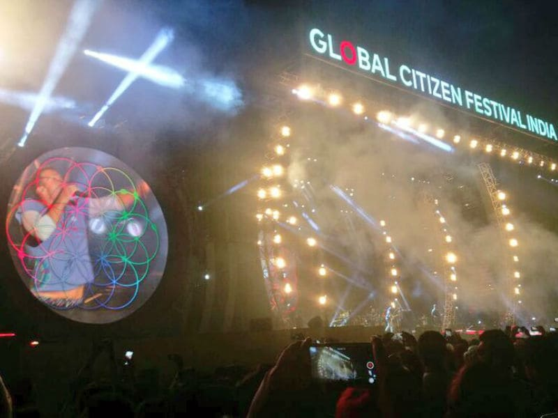 Global Citizen Festival: A Huge Applause For Chris Martin, Jay-Z And Bollywood