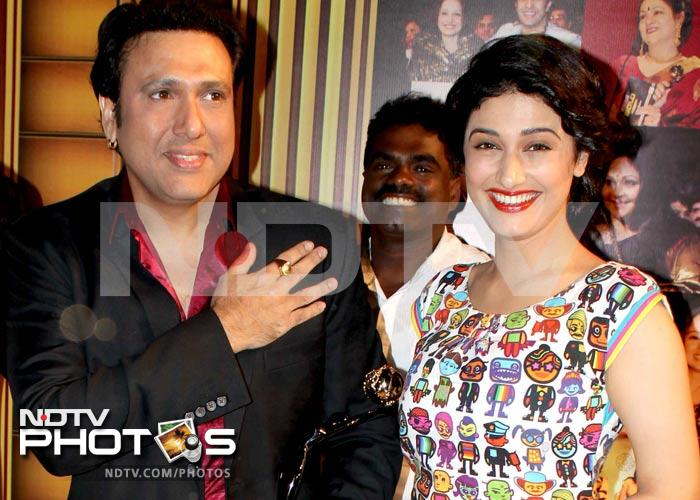 Spotted: Govinda at an awards show