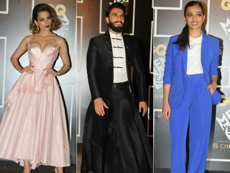 Kangana Ranaut, Radhika Apte, Ranveer Singh Rock The GQ Awards