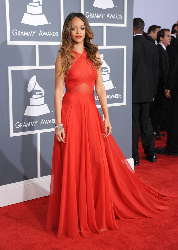Grammys 2013: Who wore what