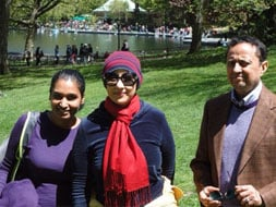A walk in the park with Manisha Koirala