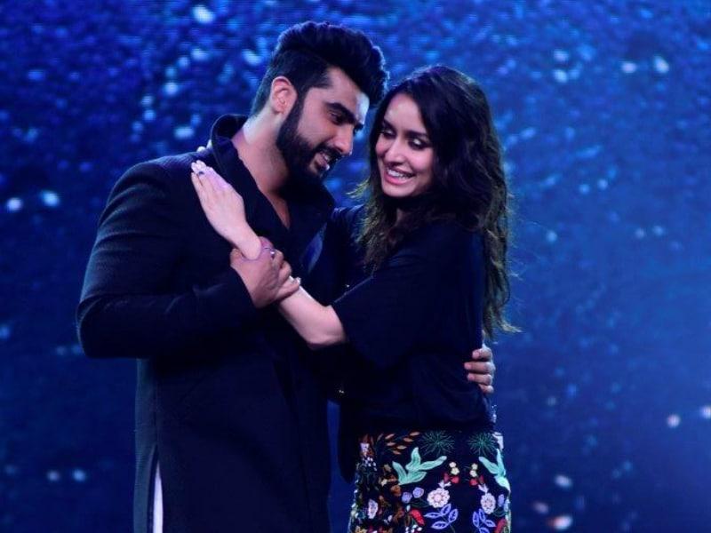 Arjun Shakes A Leg With Half Girlfriend Shraddha