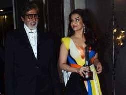 Photo : A Classy Hall of Fame: Big B, Aishwarya