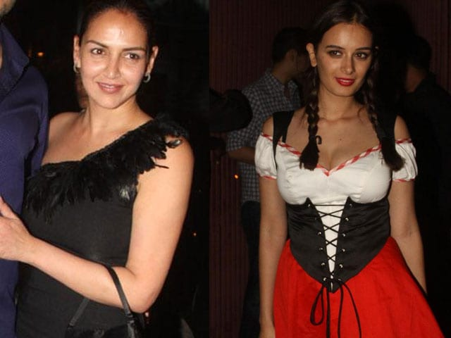 Witching hour: Esha, Evelyn