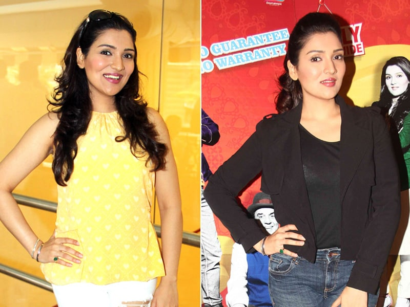 Govinda's Daughter Tina Ahuja Styles up (Twice) For Promotions