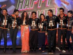 Photo : Shiny, Happy Indiawaale: SRK, Deepika & Gang