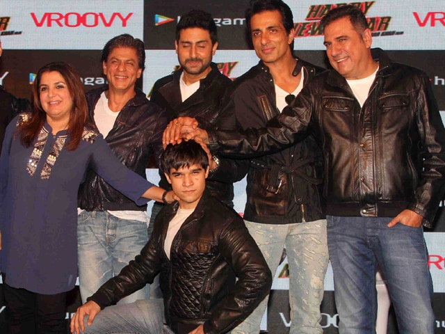 Happy New Times For Shah Rukh, Farah, Abhishek
