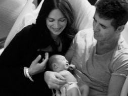 Photo : Family album: Simon Cowell, Lauren Silverman & their bundle of joy