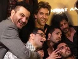 Photo : Hrithik's Grand Birthday Party With Shah Rukh, Ranveer