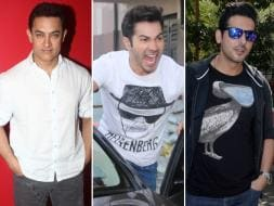 Photo : Men on a Mission: Aamir Khan, Varun Dhawan, Zayed Khan