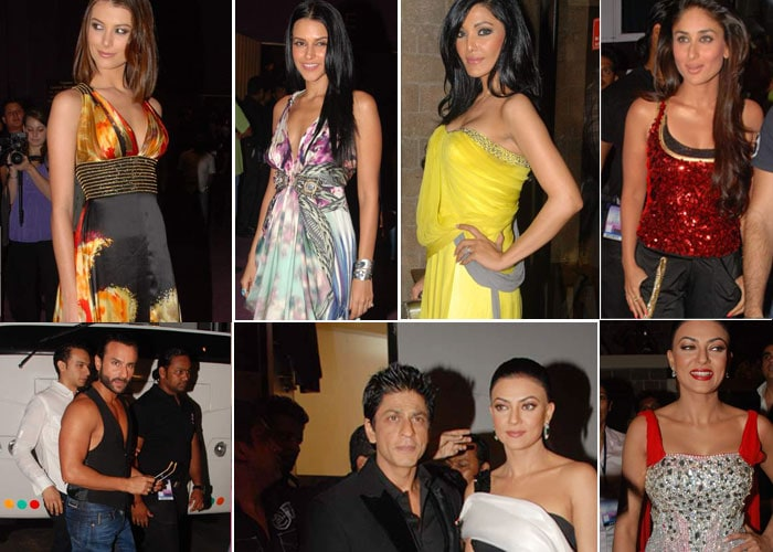 Kareena, SRK spotted at I am She finale