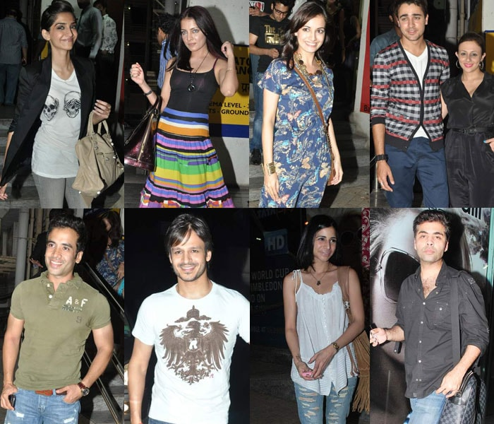Imran, Sonam at the screening of IHLS