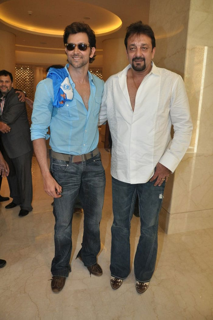 Hrithik, Sanjay rock at IIFA media meet
